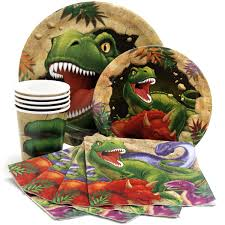 dinosaur birthday party supplies dinosaur party express party package for 8 my boys