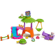 my jungle in my pocket treehouse playset toys