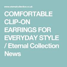 how to make clip on earrings comfortable 110 best all about clip on earrings images on clip on