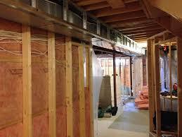 framing basement shower rooms walls express home renovation