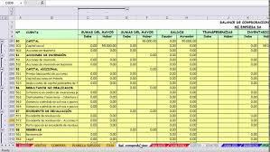 balance de comprobacion sunat balance general y estado de resultados en excel 2016 youtube