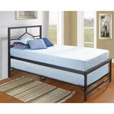 twin platform bed with trundle metal twin platform bed with