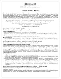 Business Analyst Resume Samples Pdf by Budget Analyst Resume Best Template Collection