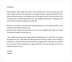 10 love letters for her free sample example format