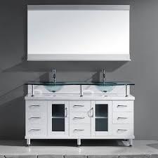 Bathroom Vanities 59 Inches Virtu Usa Vincente Rocco 59 Inch Double Sink Bathroom Vanity Set