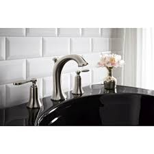 Kohler Bancroft Sink Faucet Kohler K 2338 8 0 Bancroft White Pedestals Single Bowl Bathroom