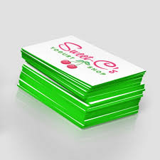 Round Business Cards Uk Painted Edge Business Cards Jakprints Inc