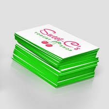 painted edge business cards jakprints inc