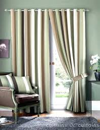 Green Striped Curtains Lime Green Stripe Eyelet Curtains Recyclenebraska Org