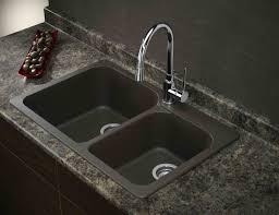 Drop In Farmhouse Kitchen Sinks Countertops Backsplash Overhead White Glossy Kitchen
