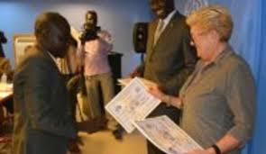 Radio Miraya Juba News Air Traffic Controllers Graduate In Juba Unmiss
