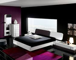 bedroom wonderful modern purple black and blue bedroom decoration