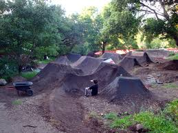 Backyard Bmx Dirt Jumps Jacob Hyde Aka Cob Bike Check Pinkbike