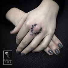 the fine blackwork of marla moon tattoodo