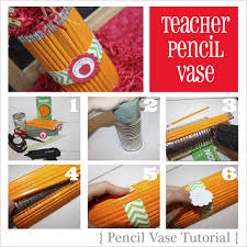 Pencil Vase Amanda U0027s Parties To Go Tutorial Teacher Pencil Vase