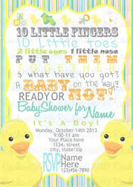 duck baby shower invitations rubber duckie baby shower invitation printable 16 00 via