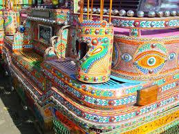 Vintage Ford Truck Art - 20 stunning photos that capture the beauty of pakistani truck art