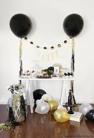 nye party kits host a fabulous new year s party black white gold white