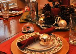 Christmas Table Decorations To Buy Ideas by Bedroom How To Decorate Your Christmas Table With Plate And Balls