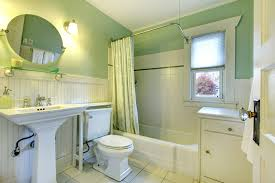 green and white bathroom ideas bathroom glass color budget vanity tub and green vintage cabinets