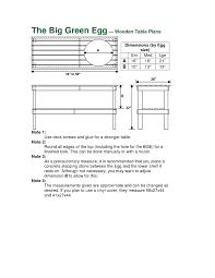 green plans big green egg cart plans how to made table plans for the big