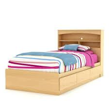 bedroom twin bed headboard full size headboard with shelves