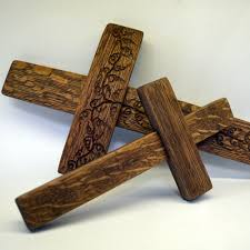 small wood crosses wine barrel cross free shipping napa general store