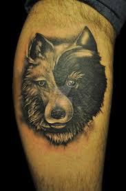 yin yang wolf by justtattoo on deviantart