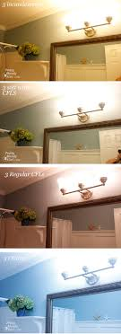 what are the best light bulbs paint colors for master bathroom lighting color temperature what to