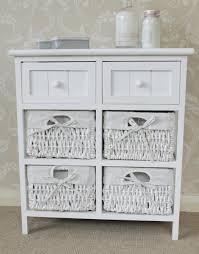 White Wicker Bathroom Storage Wicker Bathroom Furniture Home Decor