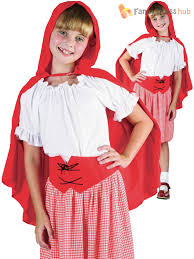 Red Riding Hood Costume Girls Little Red Riding Hood Costume World Book Day Week Kids