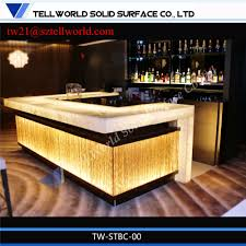 Commercial Bar Tables by Modern Bar Counter Led Bar Table Led Furniture For Sell Buy