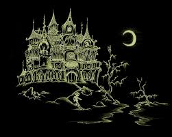 halloween scenic background halloween drawings u2013 happy holidays