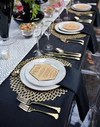 wedding table settings 27 chic deco wedding table settings happywedd