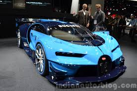 custom bugatti bugatti vision gt front quarter at the iaa 2015 indian autos blog
