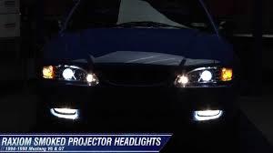 1994 mustang gt headlights mustang raxiom chrome projector headlights halo 94 98 all