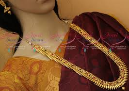 nl11080 kerala style antique gold plated ornaments south indian