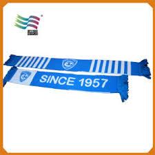 china factory production custom cotton football scarves