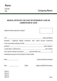 custom medical certificates letter templates print medical