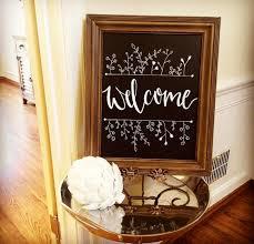 welcome chalkboard u2026 crafts pinterest chalkboards board
