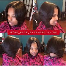 bob haircuts with center part bangs best 25 middle part quick weave ideas on pinterest weave bob