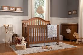 Munire Convertible Crib Bedroom Design Wood Munire Crib On Gray Shag Rugs And