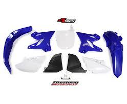 yamaha yz250 2002 2014 racetech 2015 restyle plastics kit yz 250
