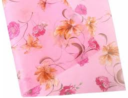 floral printed tissue paper wrap flower gift wrap
