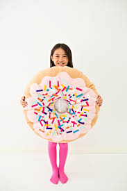 Sew Can Do Make A Cuddly Cute Pumpkin Costume Without A Pattern by Hello Wonderful Diy No Sew Felt Donut Costume For Kids