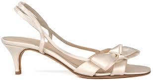 wedding shoes small heel low heel wedding shoes with silk satin ipunya