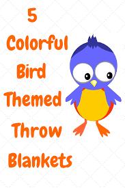 themed throw blanket 5 bird themed decorative throw blankets birding fever
