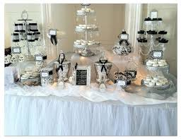 Black And White Candy Buffet Ideas by 7 Best Black U0026 White Candy Table Images On Pinterest Candy Table