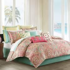 California King Comforter Set Asha Printed Paisley Comforter Set By Mizone Hayneedle