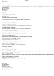 Sample Resume Pharmacy Technician by Pharmacy Resume Resume For Your Job Application